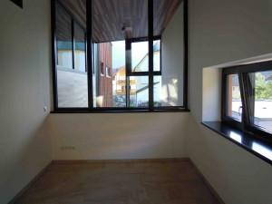 Der neue Archivraum noch ohne Einbauten